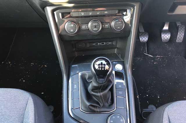 Seat Tarraco gearstick