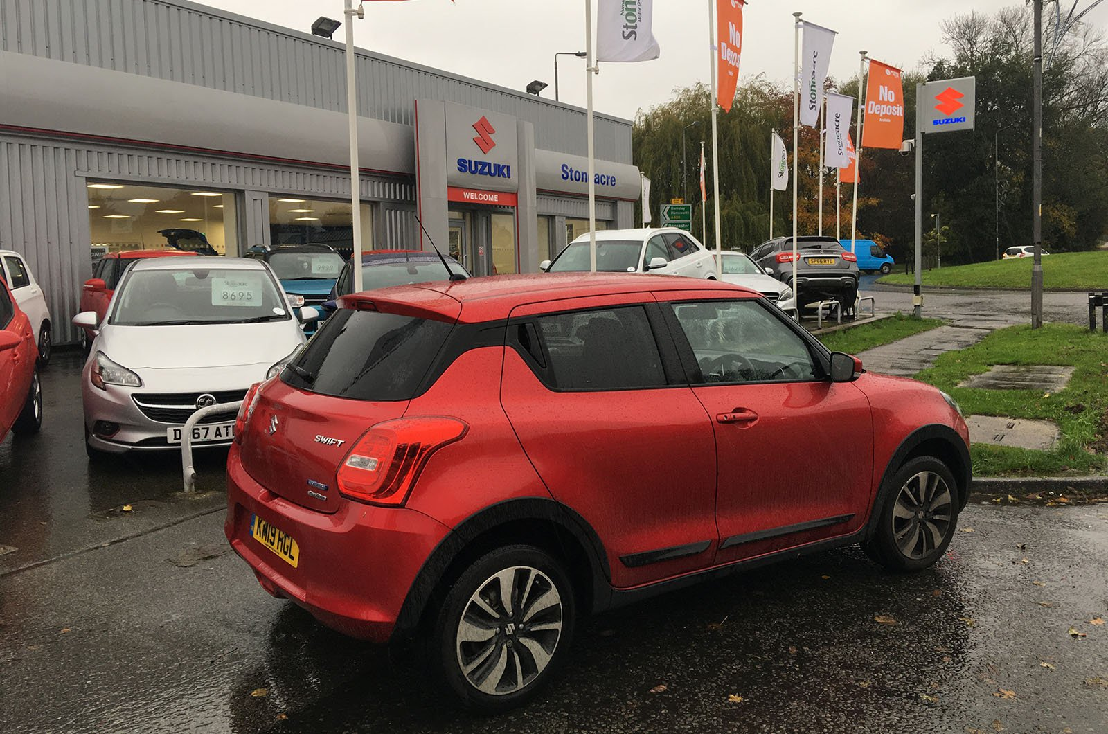 Used Suzuki Swift long term dealership visit