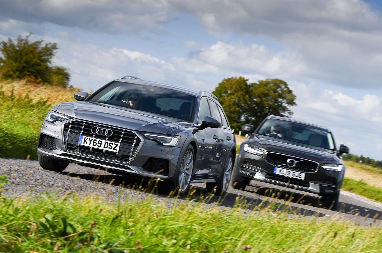 Audi A6 Allroad vs Volvo V90 Cross Country