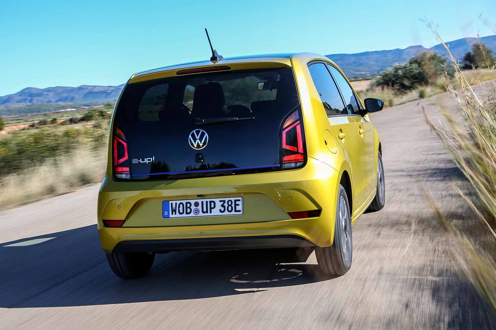 Volkswagen e-Up 2019 LHD rear cornering
