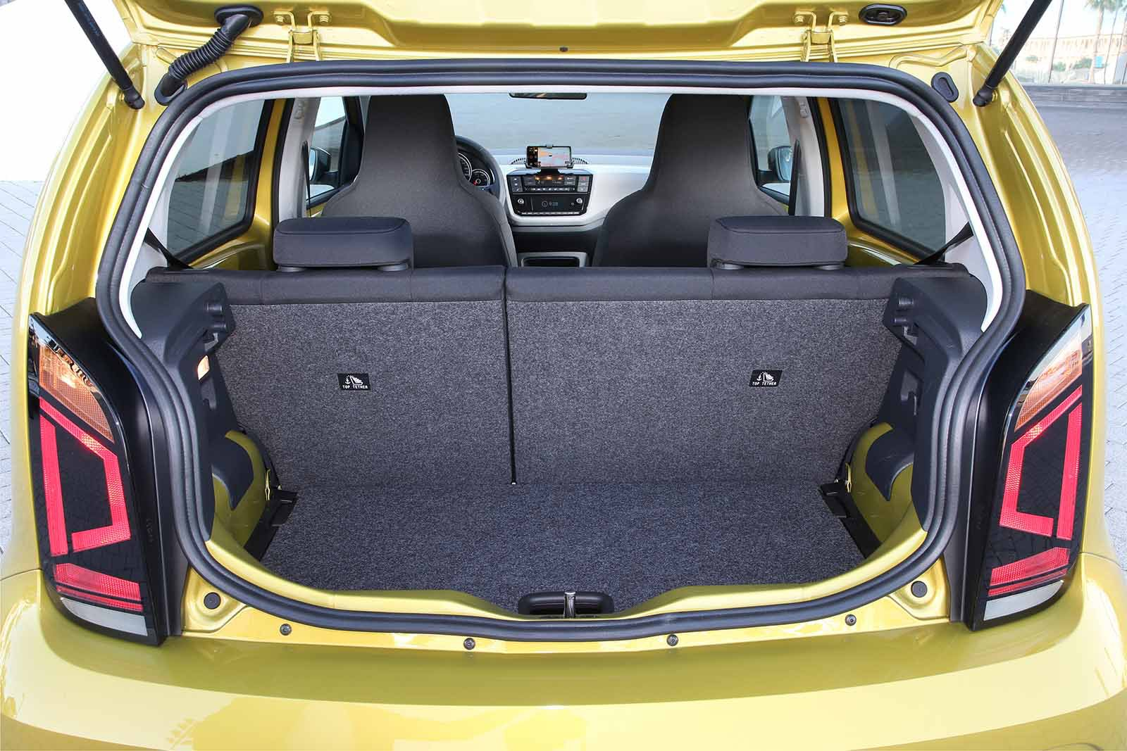 Volkswagen e-Up 2019 LHD boot open