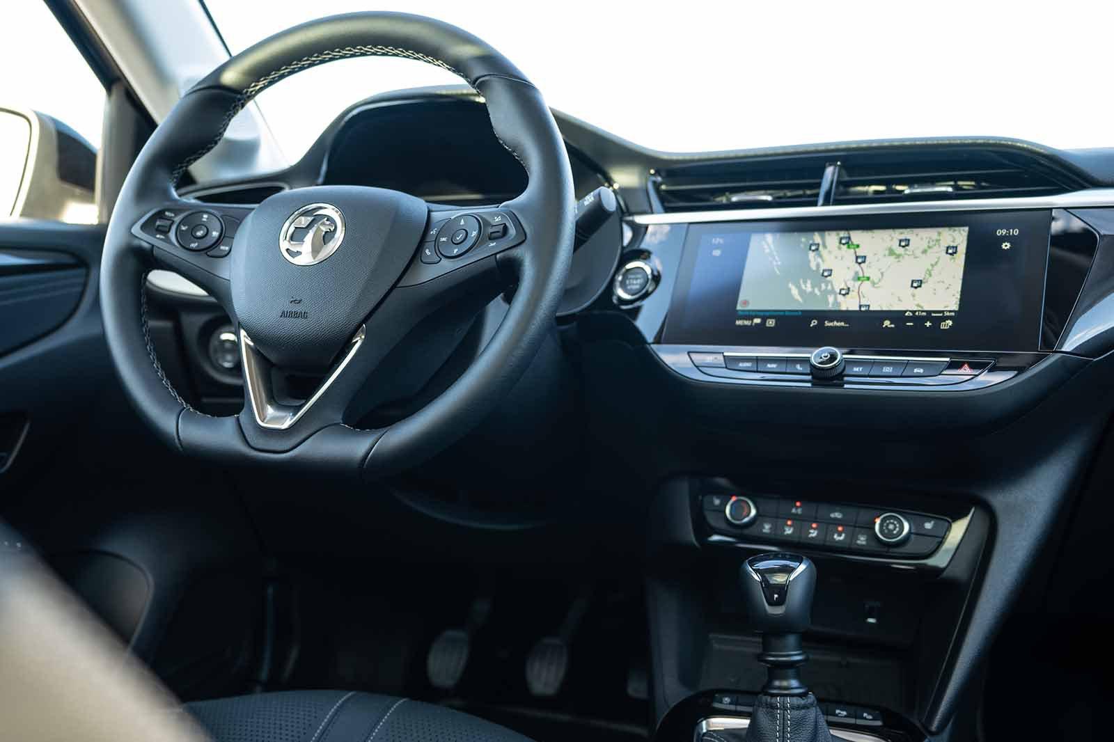 2020 Vauxhall Corsa LHD dashboard