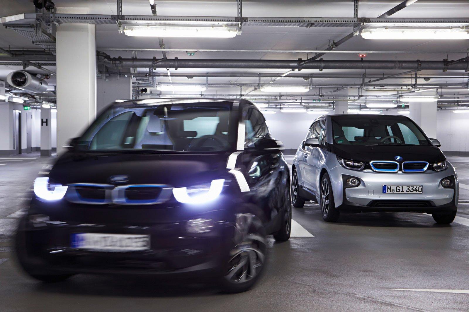 BMW parking assist