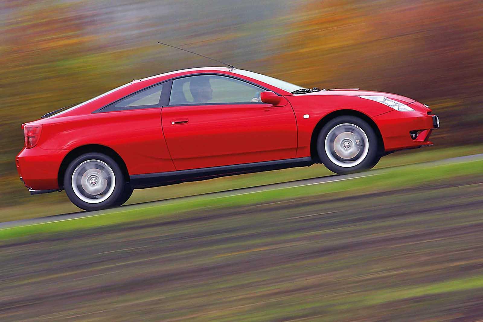 Toyota Celica side shot
