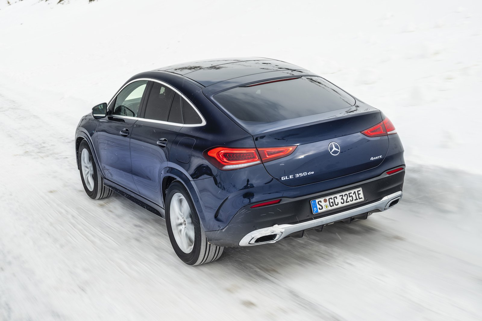 2020 Mercedes GLE Coupe rear