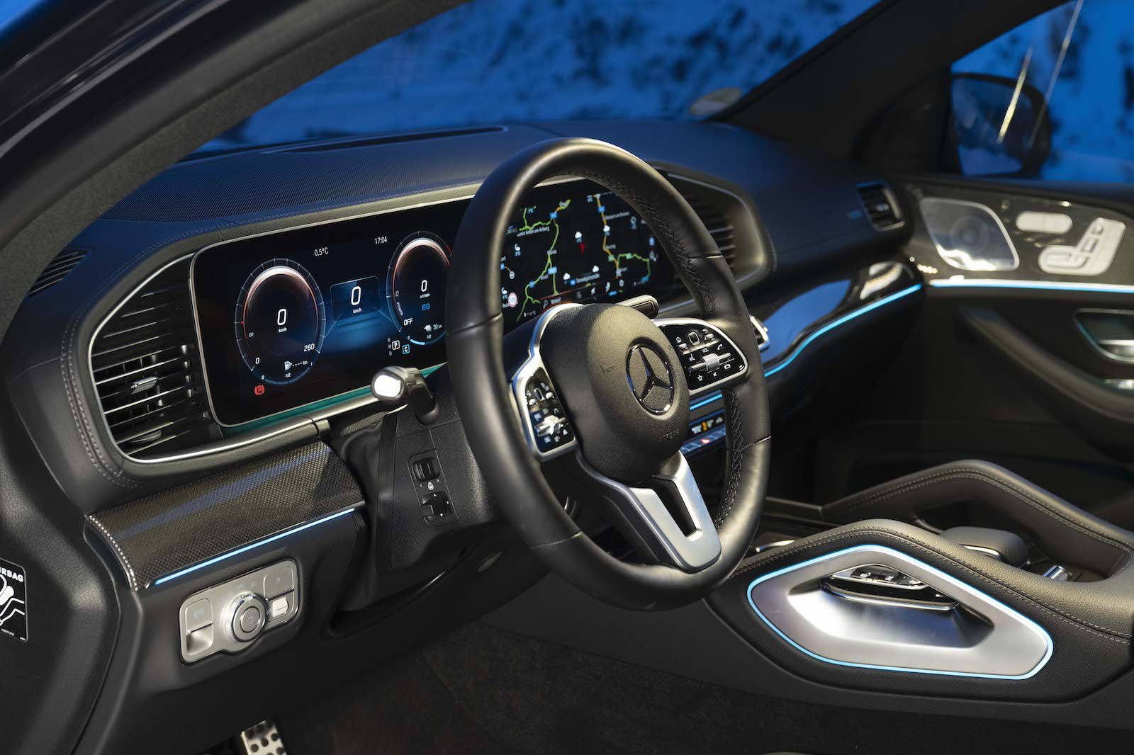 2020 Mercedes GLE Coupe interior