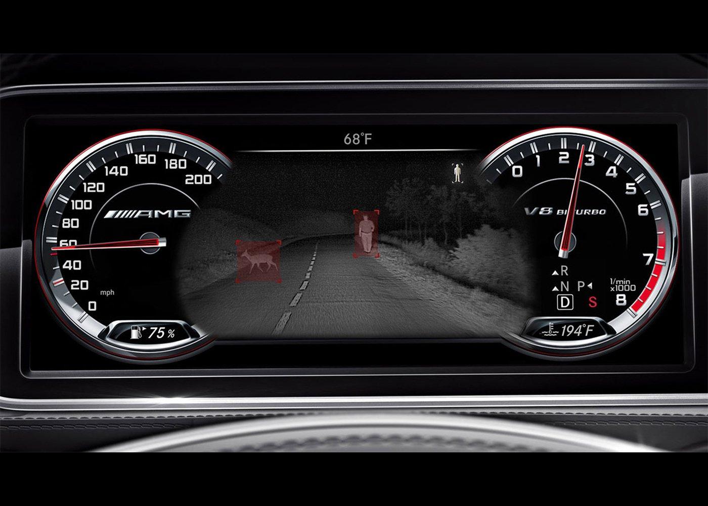 Mercedes-Benz Night View Assist