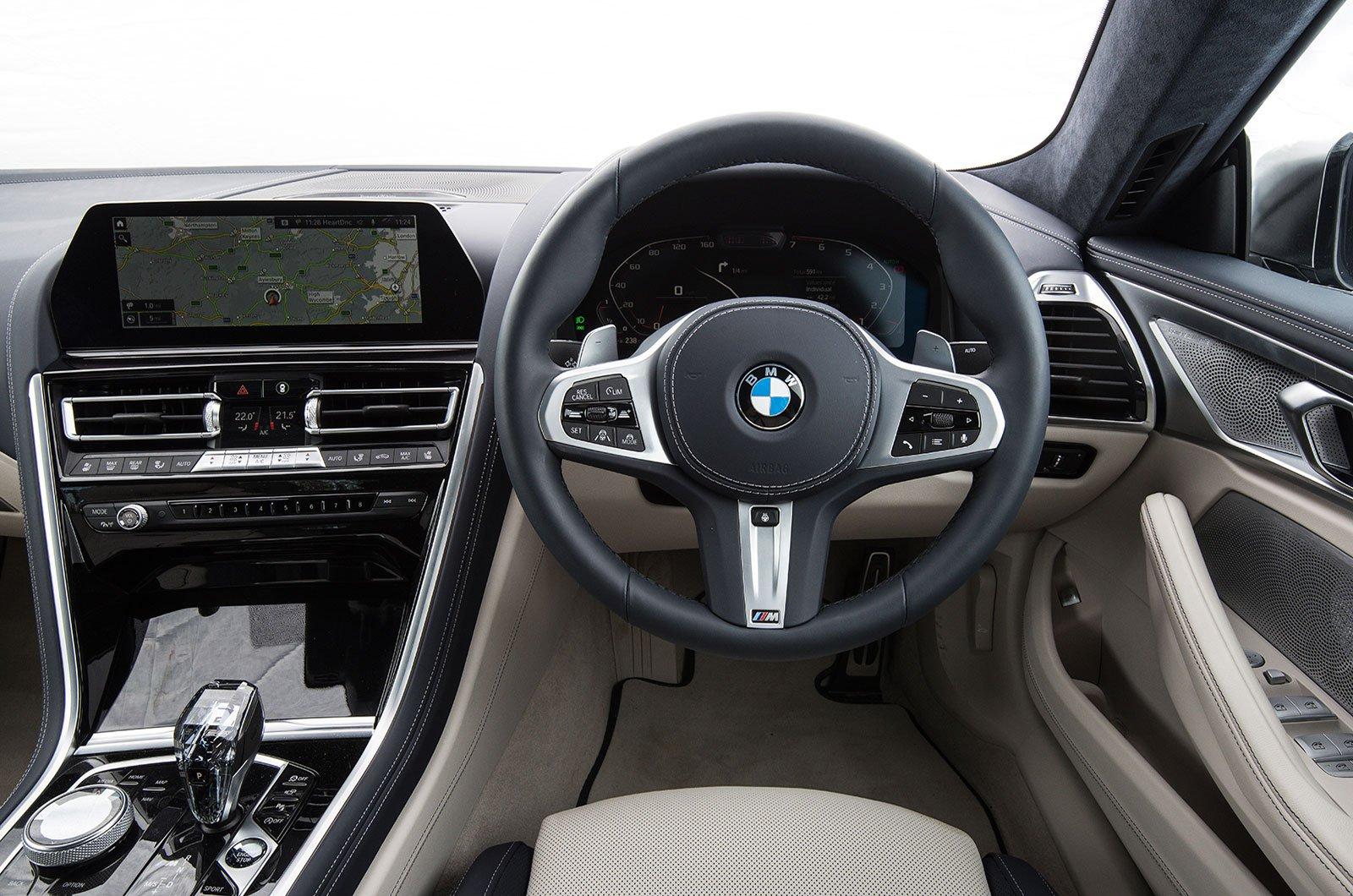 BMW 8 Series Gran Coupé - interior