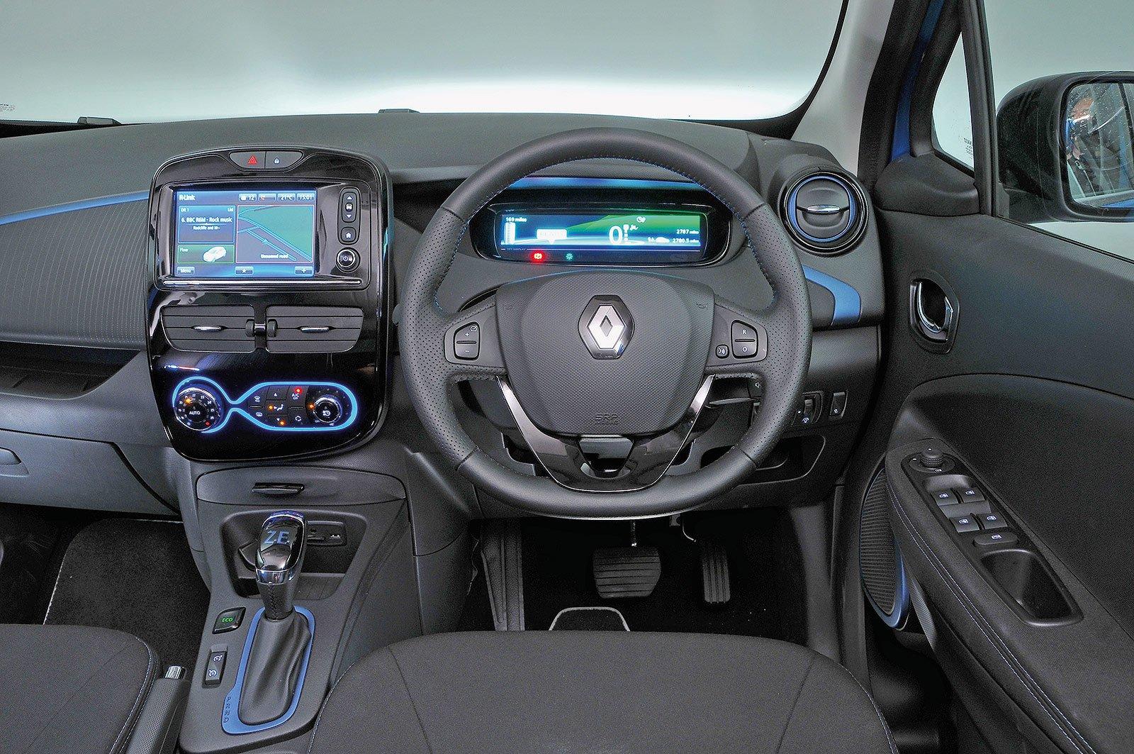 Renault Zoe Play R110 Z.E. 50 - interior