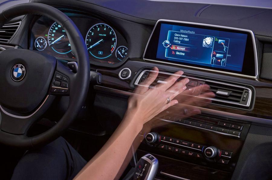 BMW gesture control