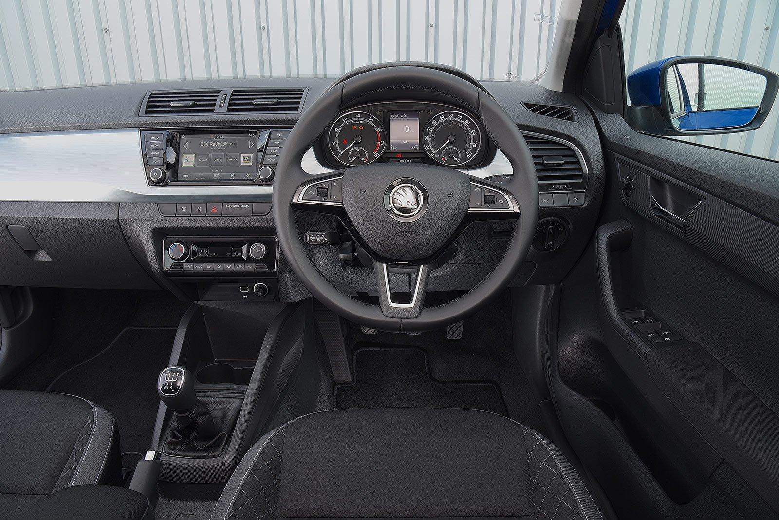 Skoda Fabia S 1.0 MPI 60PS - interior