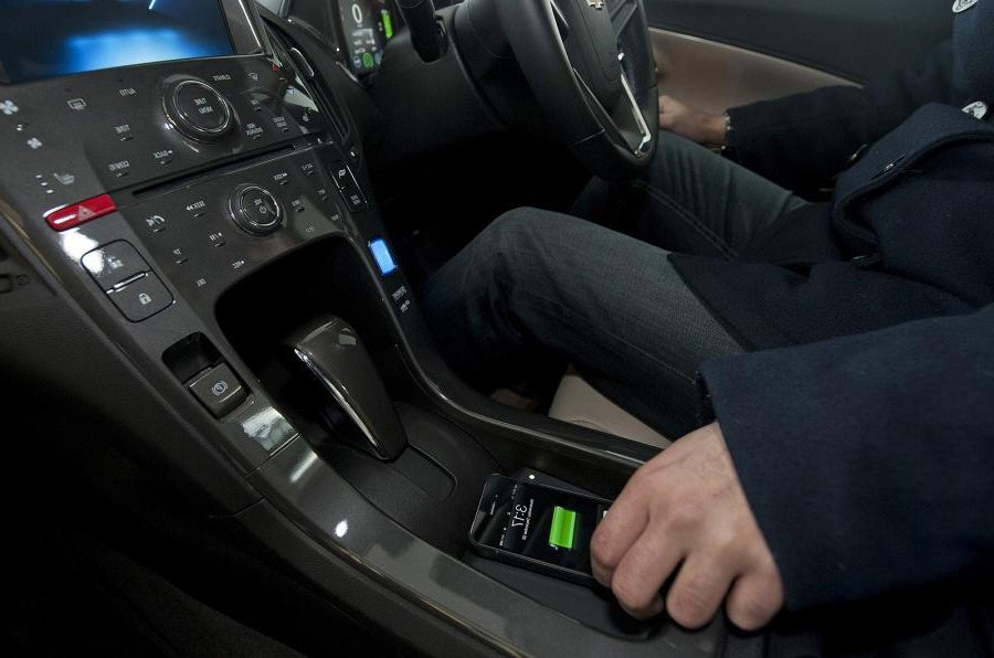 In-car phone charger
