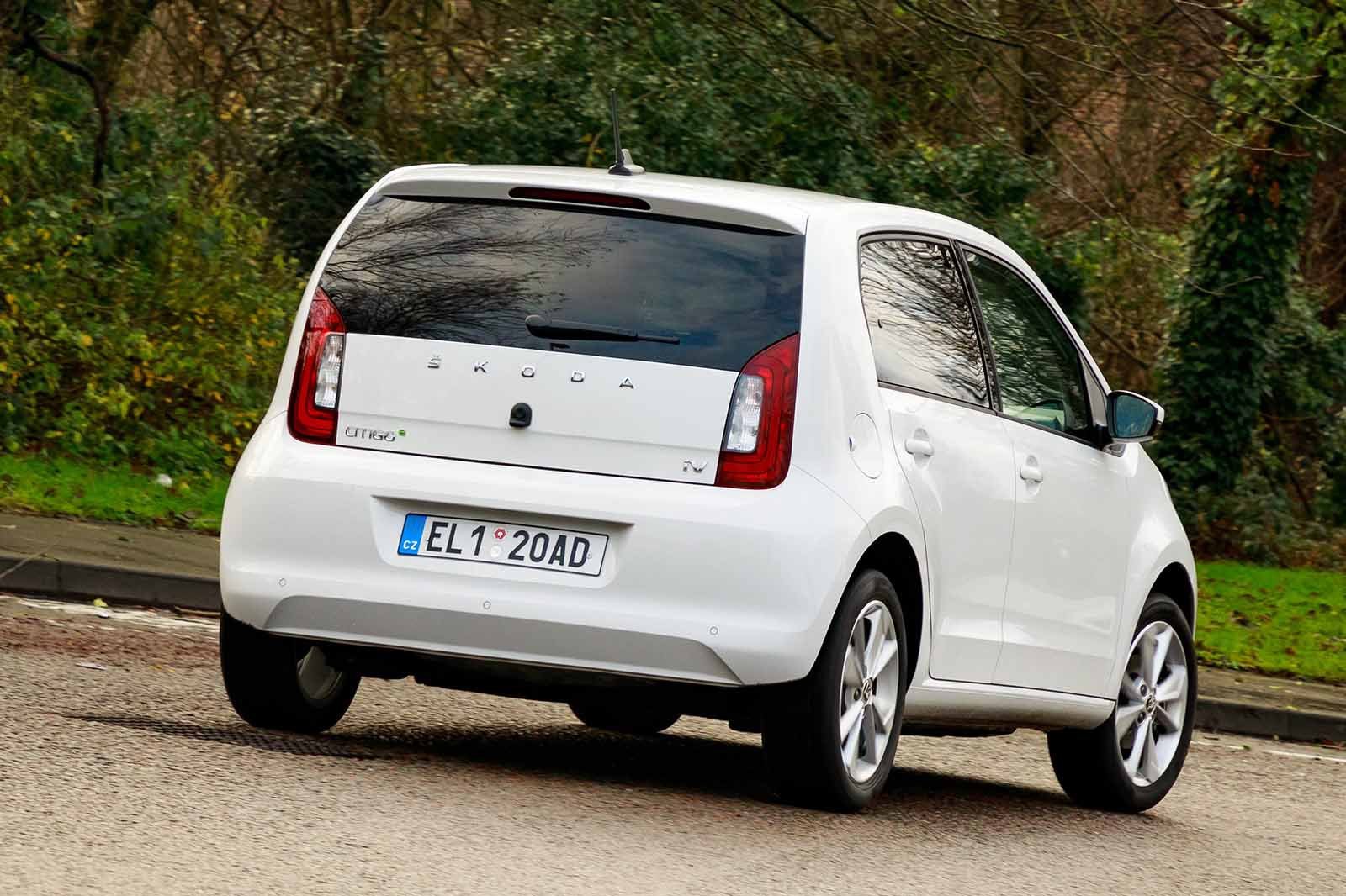 Skoda Citigo e IV 2019 LHD rear cornering