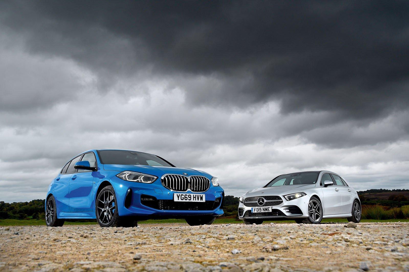 New BMW 1 Series vs Mercedes A-Class