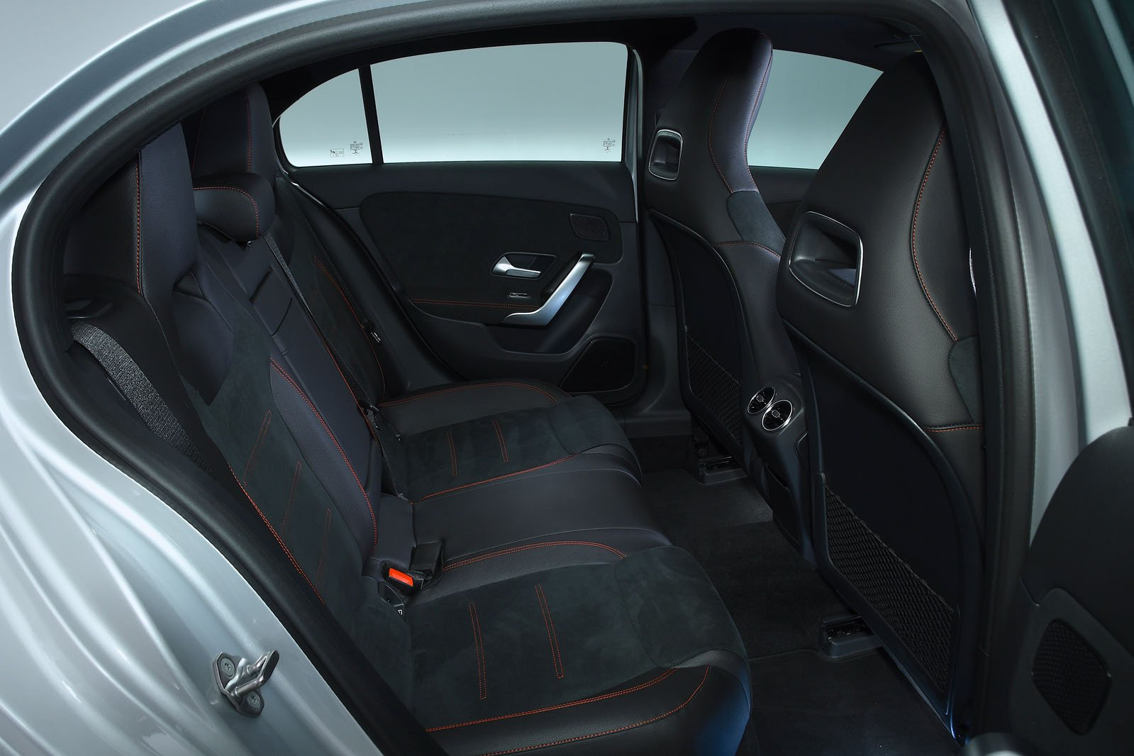 Mercedes A-Class rear seats