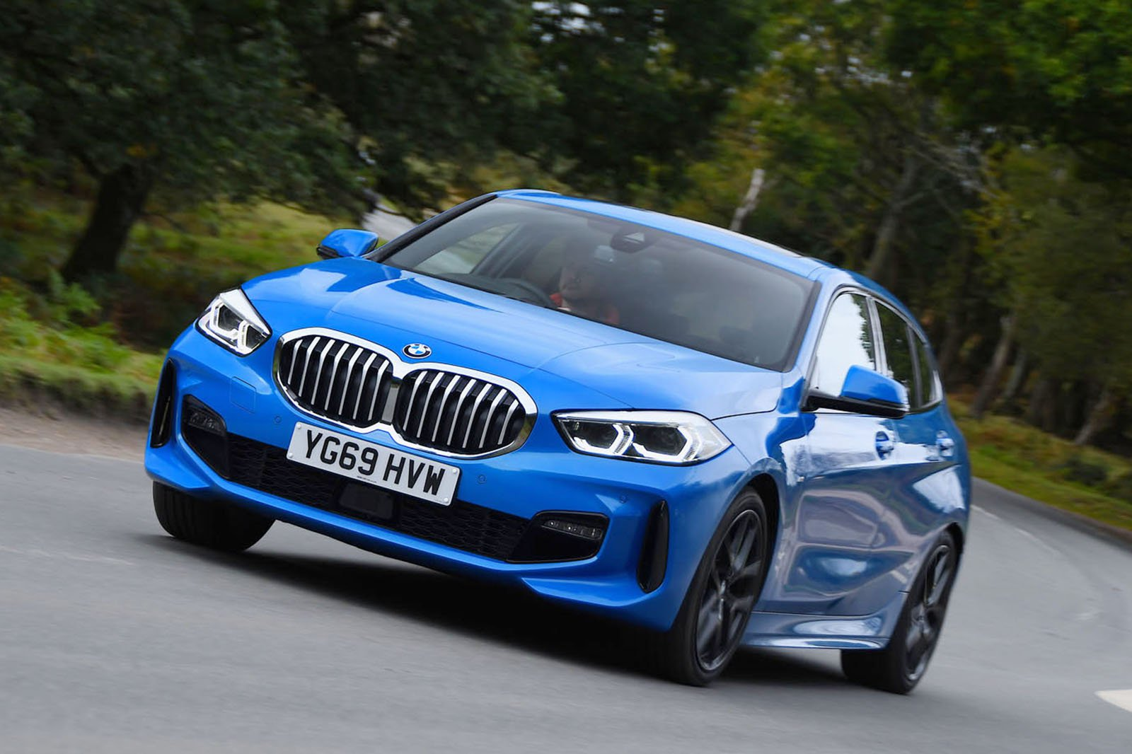 BMW 1 Series driving
