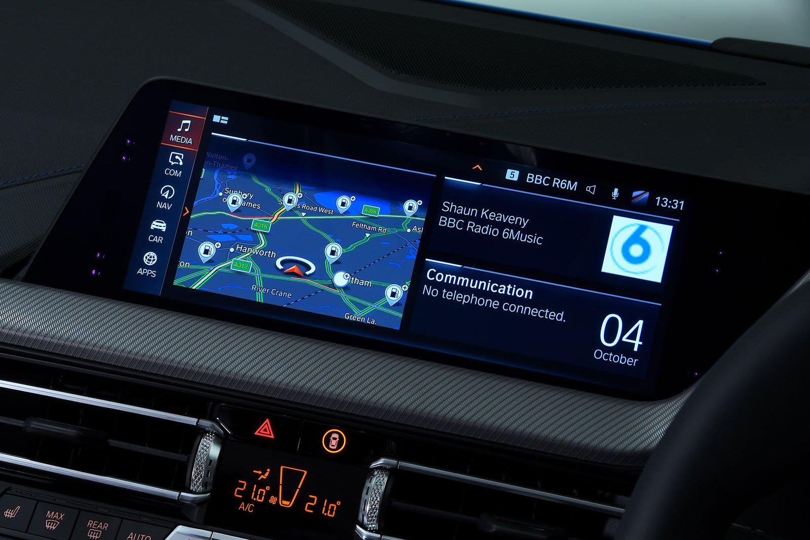 BMW 1 Series infotainment