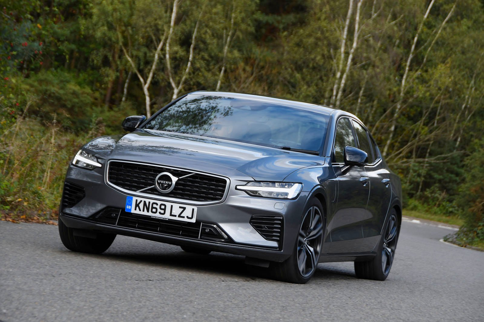 Volvo S60 driving