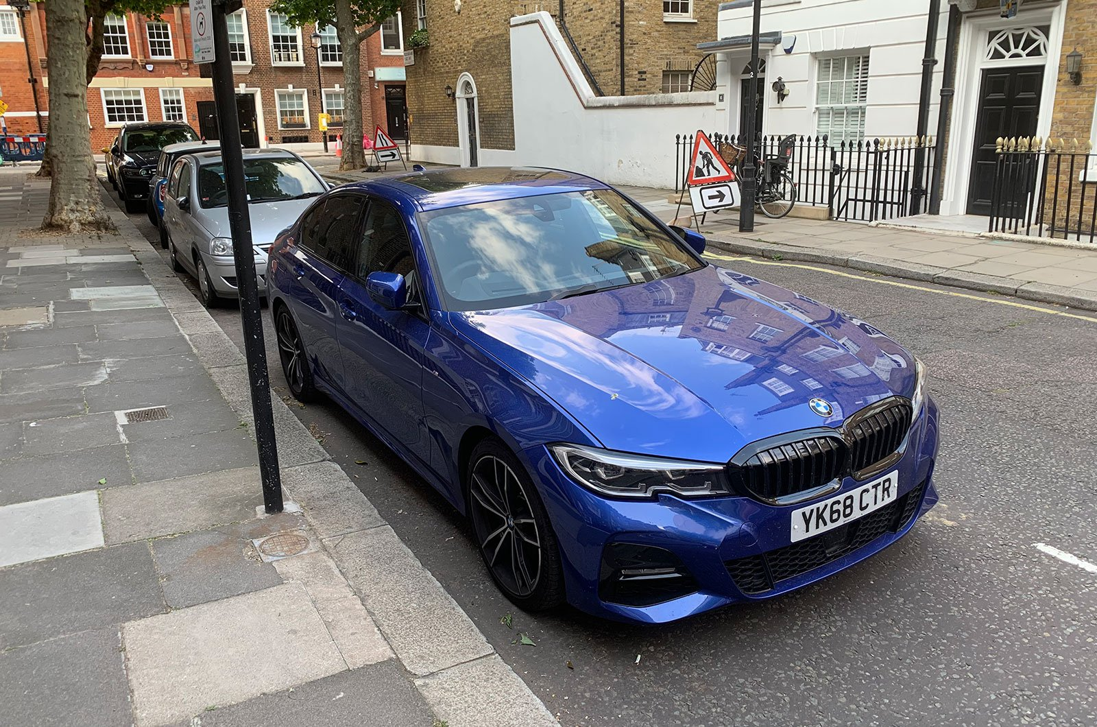 BMW 3 Series parked in London