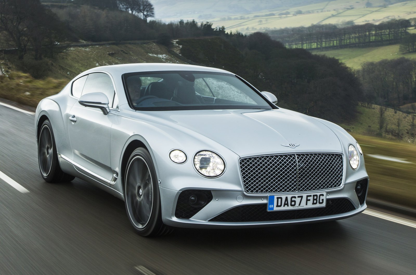 Bentley Continental GT front - silver