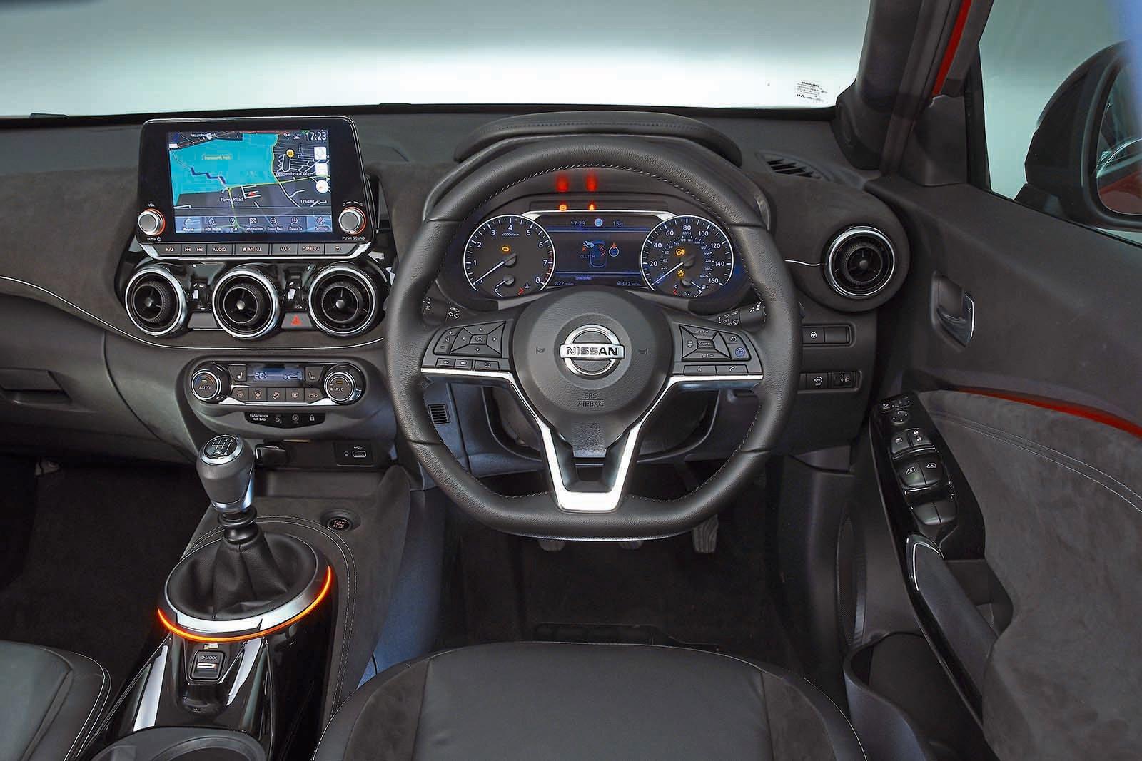 Nissan Juke 2019 dashboard RHD