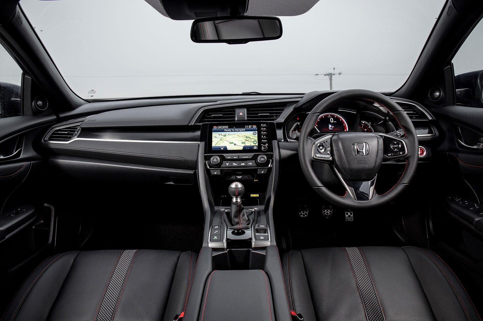 Honda Civic Hatchback 2019 dashboard RHD