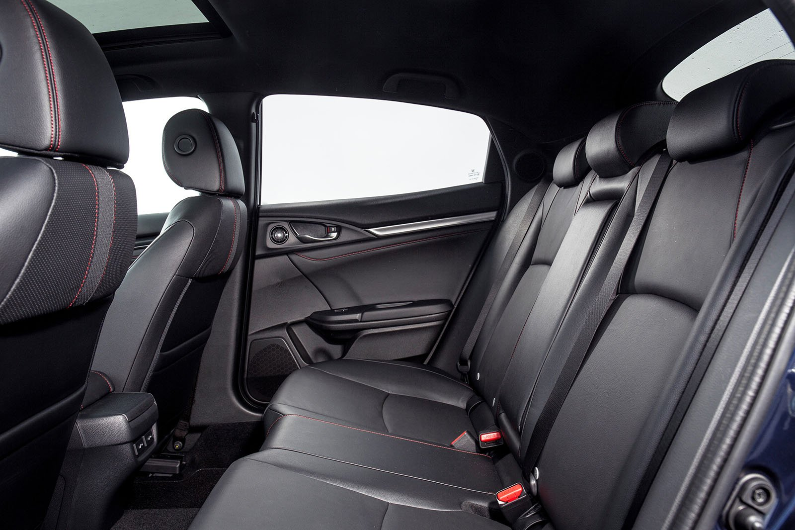 Honda Civic Hatchback 2019 rear seats RHD