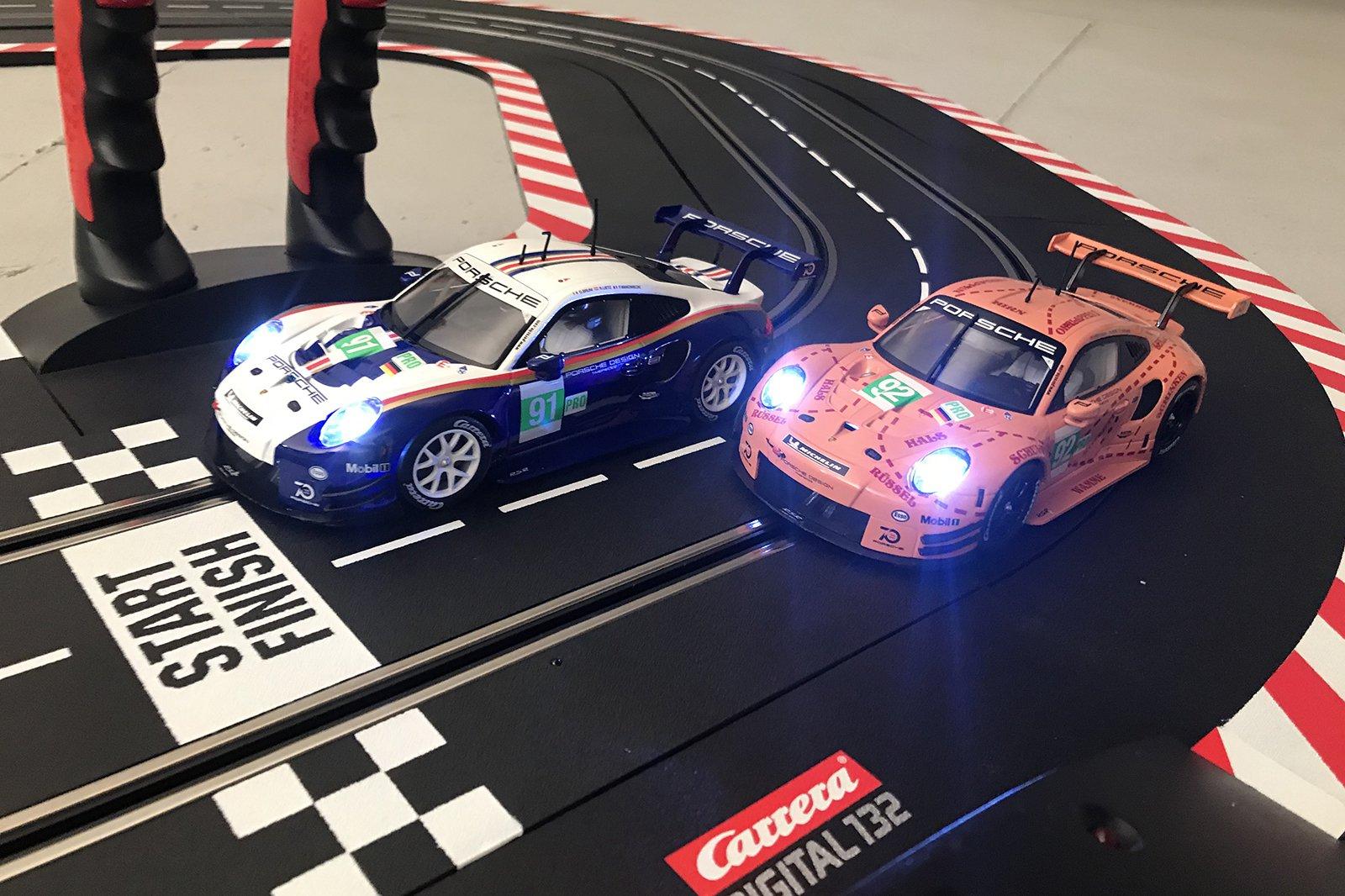 Carrera Double Victory 911s