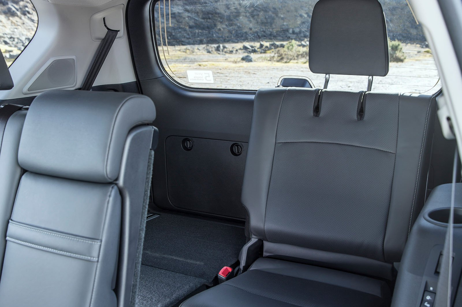 Toyota Land Cruiser 2019 rear seats RHD