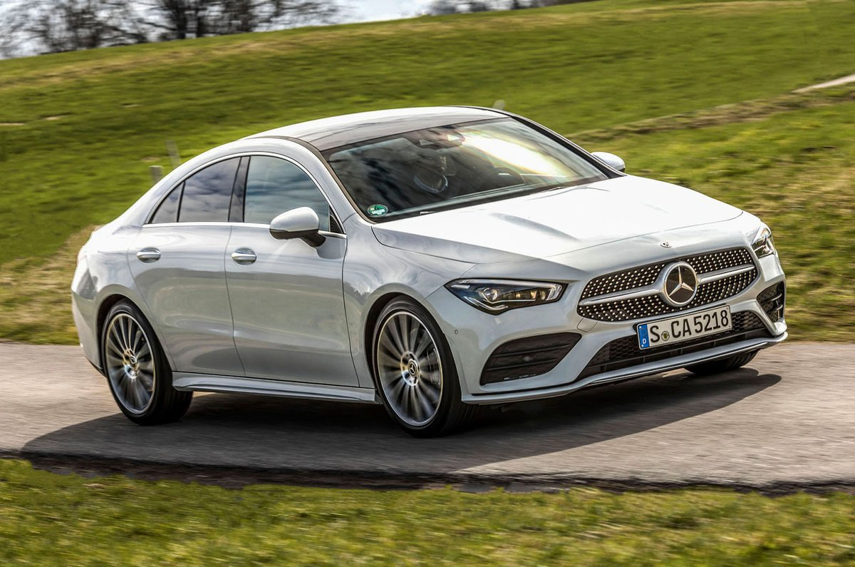 2019 Mercedes CLA front