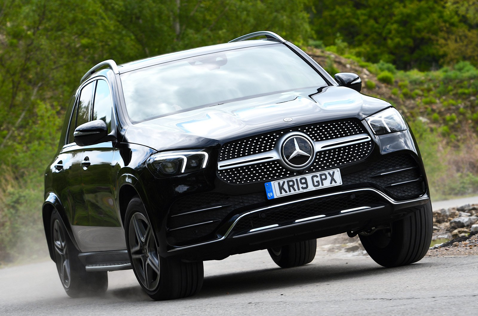 Mercedes GLE front - 19 plate
