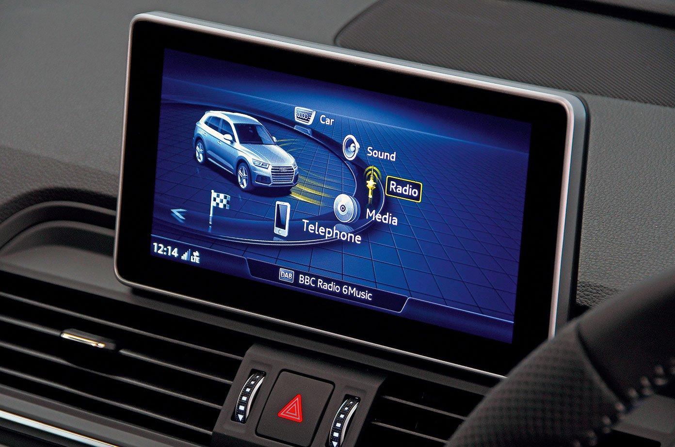 New Audi Q5 vs Volvo XC60: infotainment   What Car?