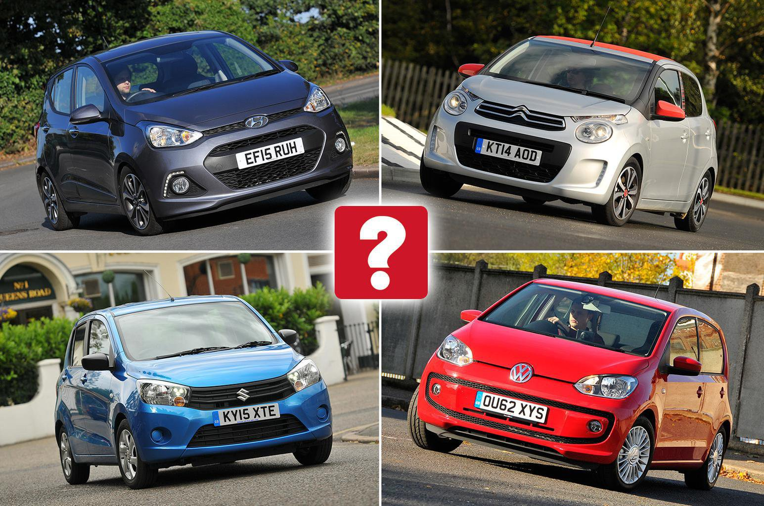 Small car compilation image