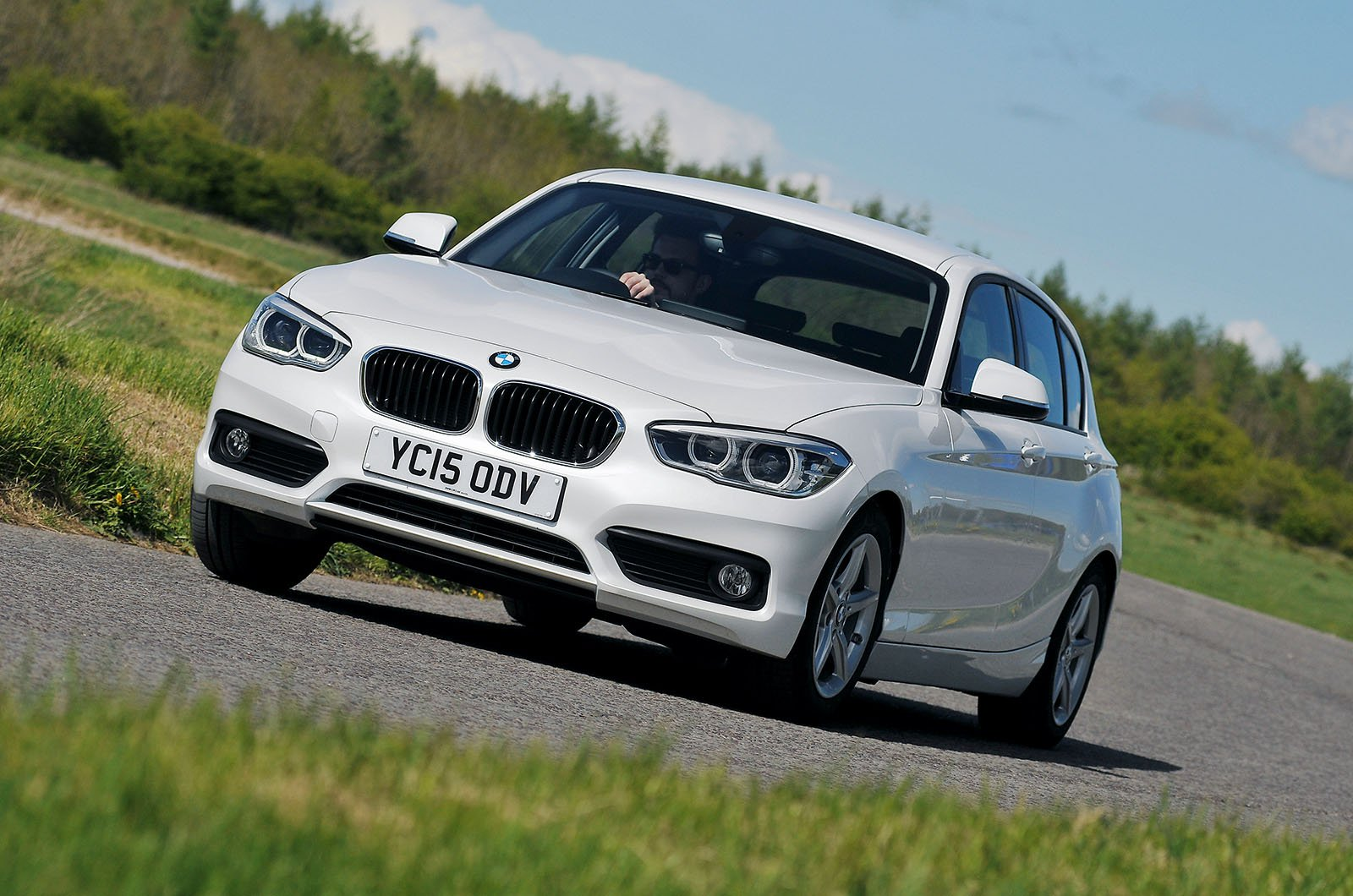 BMW 1 Series front three quarters