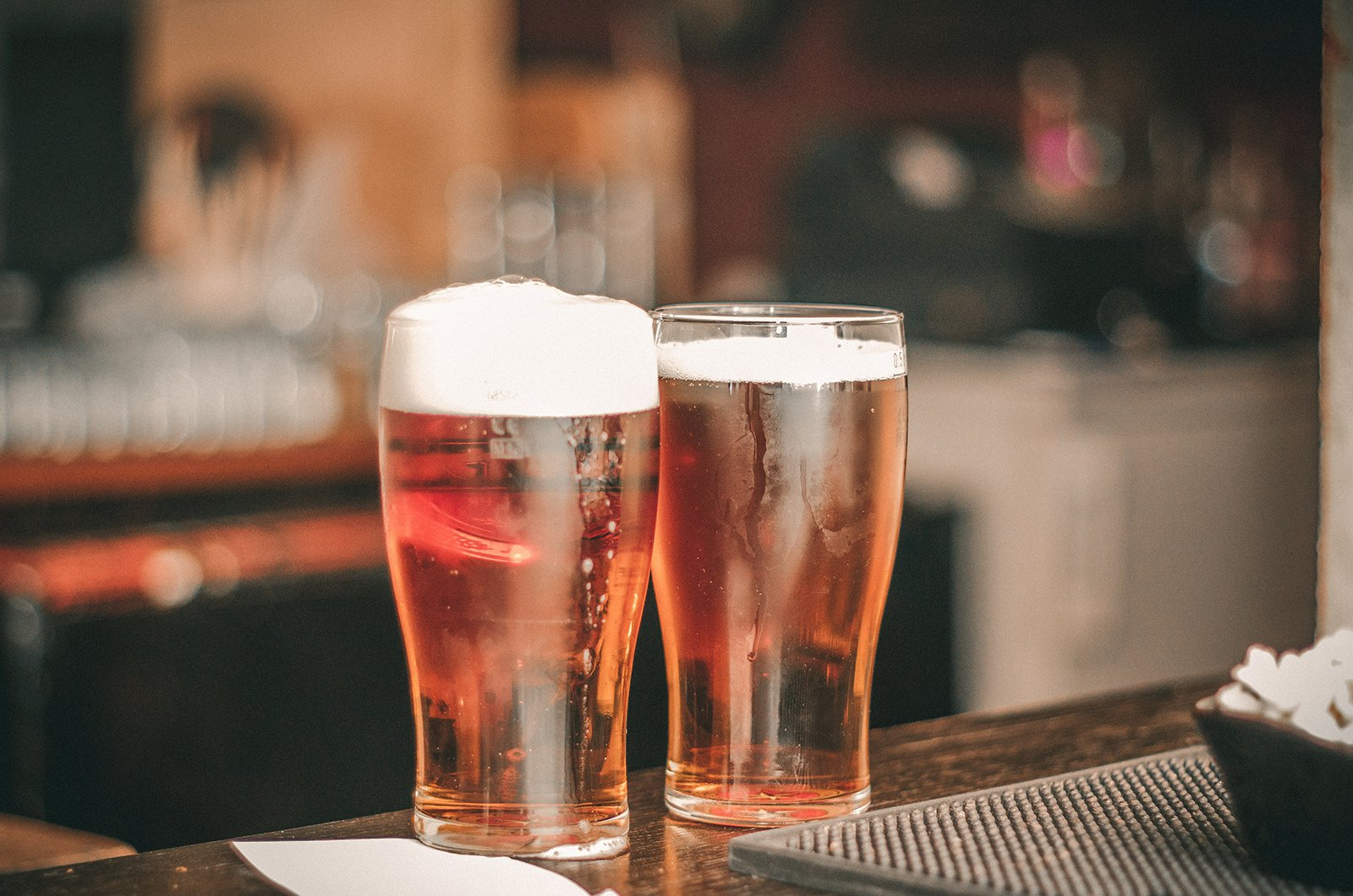Two pint of alcohol
