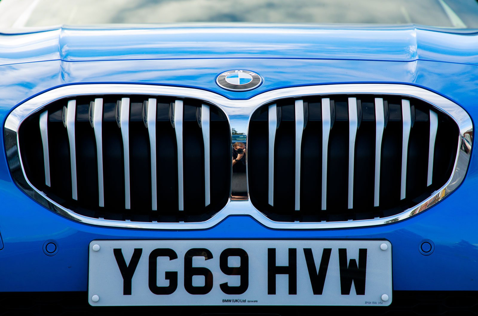 BMW 1 Series front grill