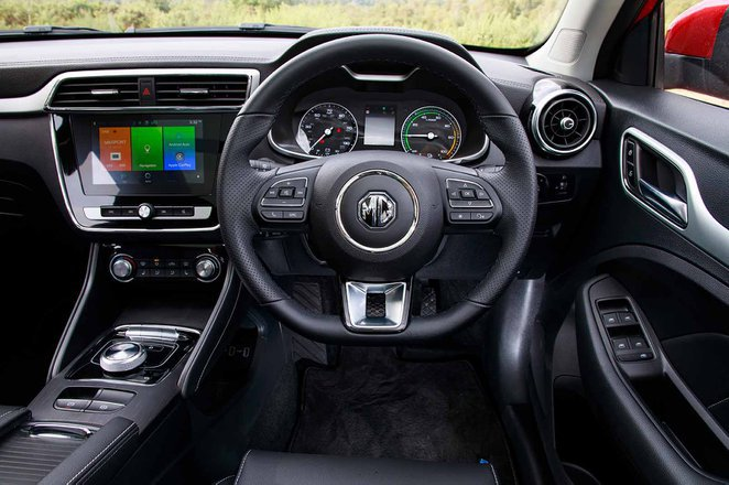 MG ZS EV - interior