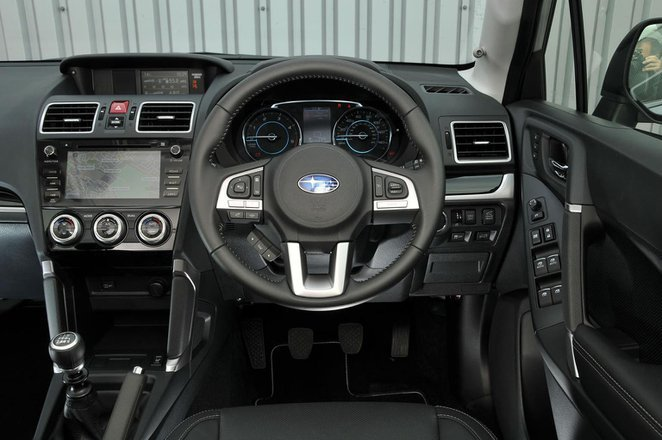Subaru Forester - interior