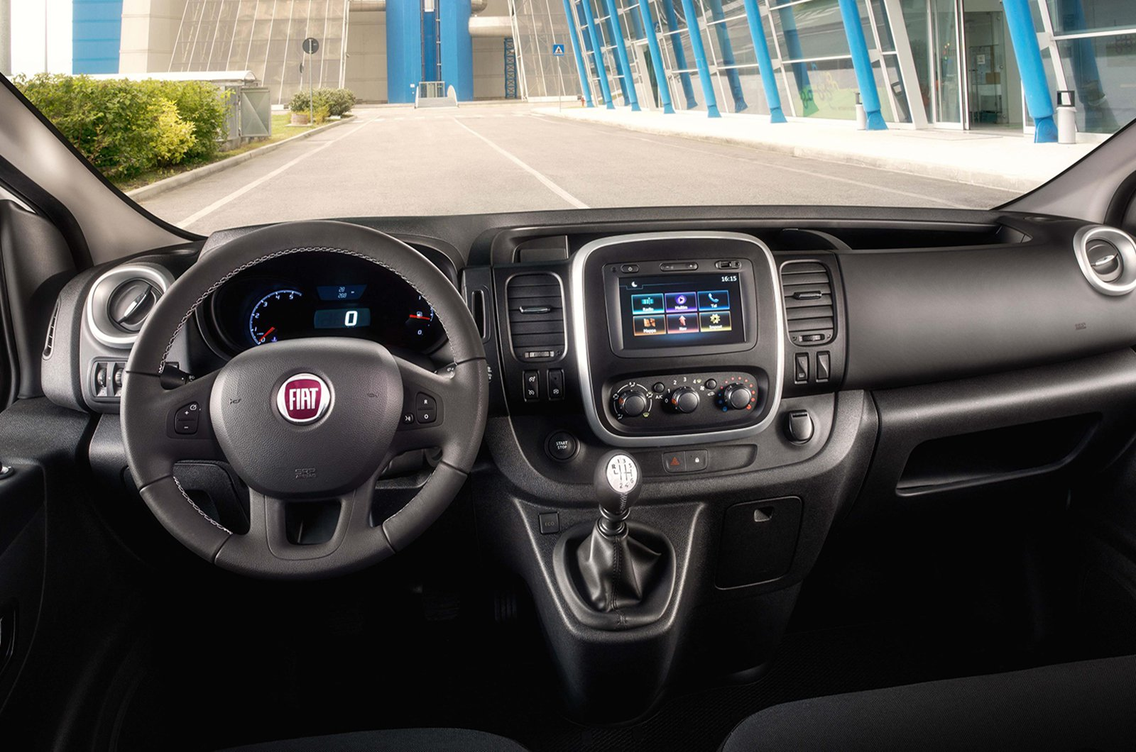 Fiat Talento - interior