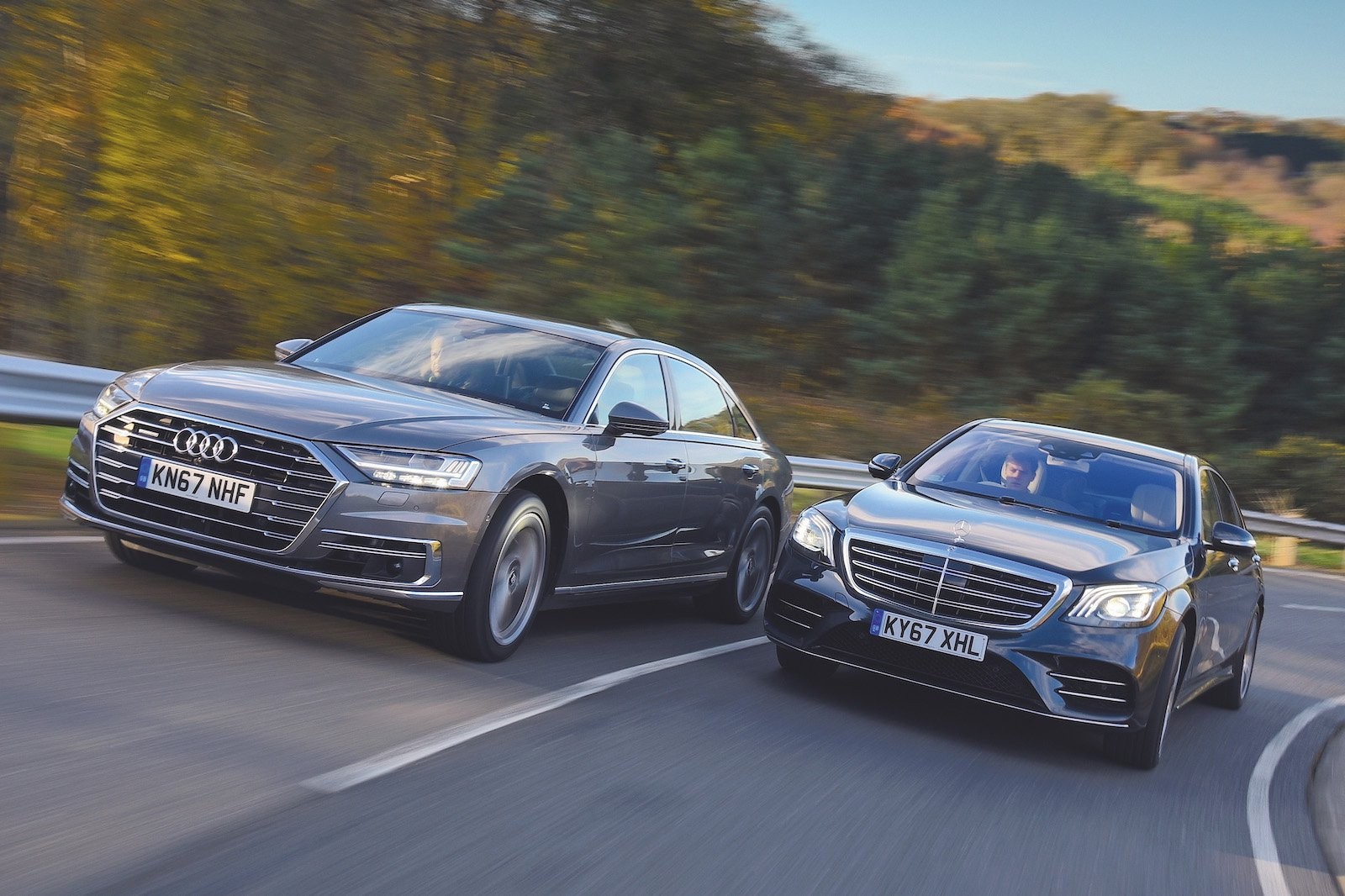 Used test: Audi A8 vs Mercedes-Benz S-Class