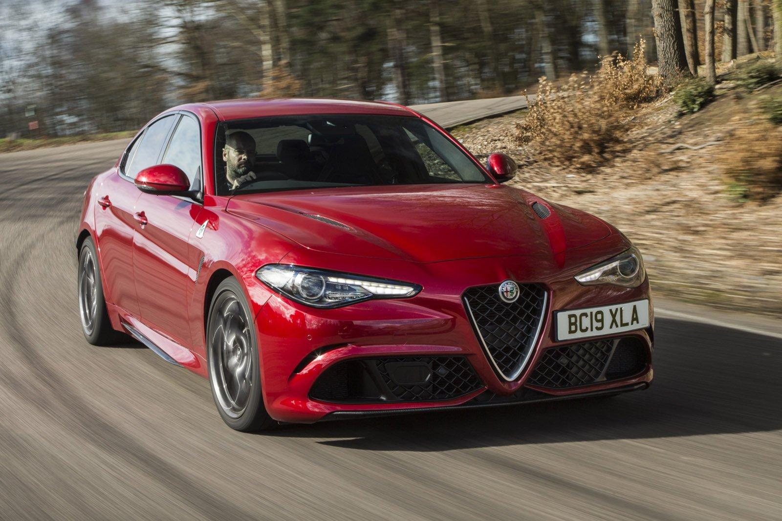 Alfa Romeo Giulia Quadrifoglio 2019 front tracking