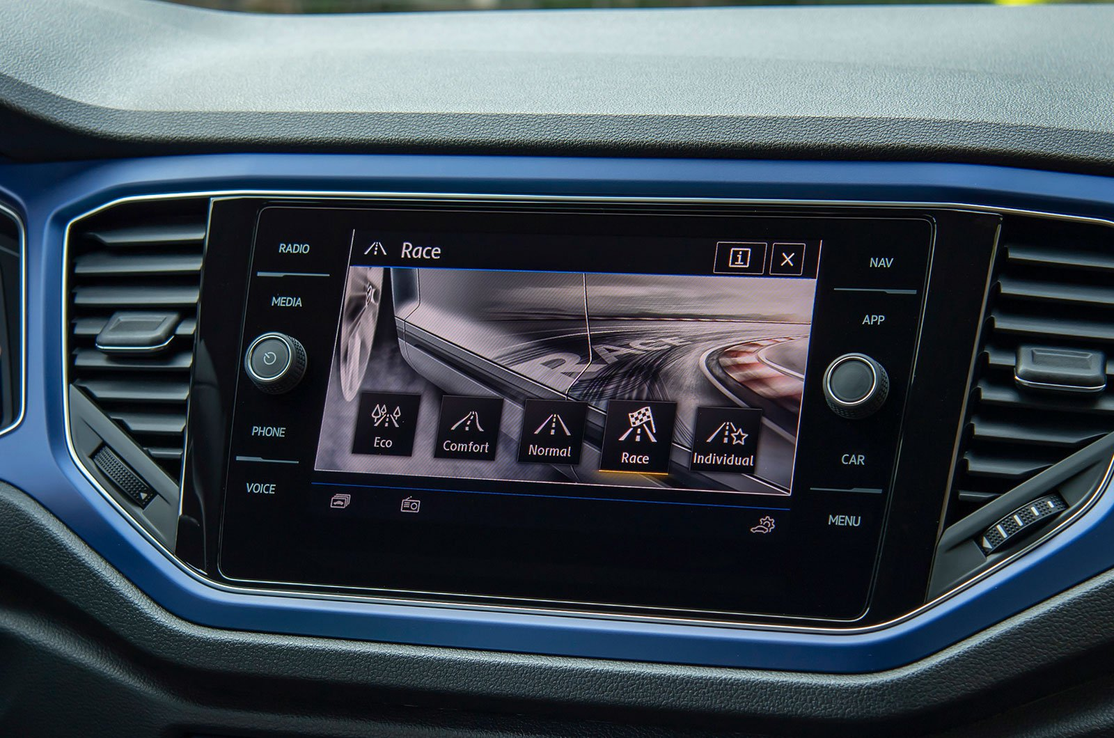 Volkswagen T-Roc R driving modes