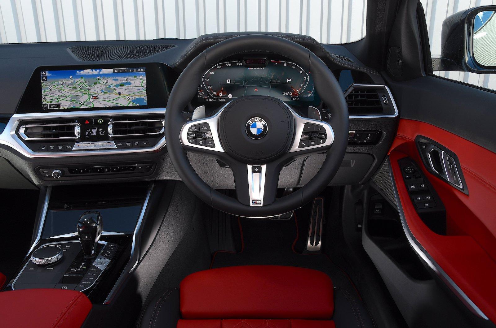 M340i Interior