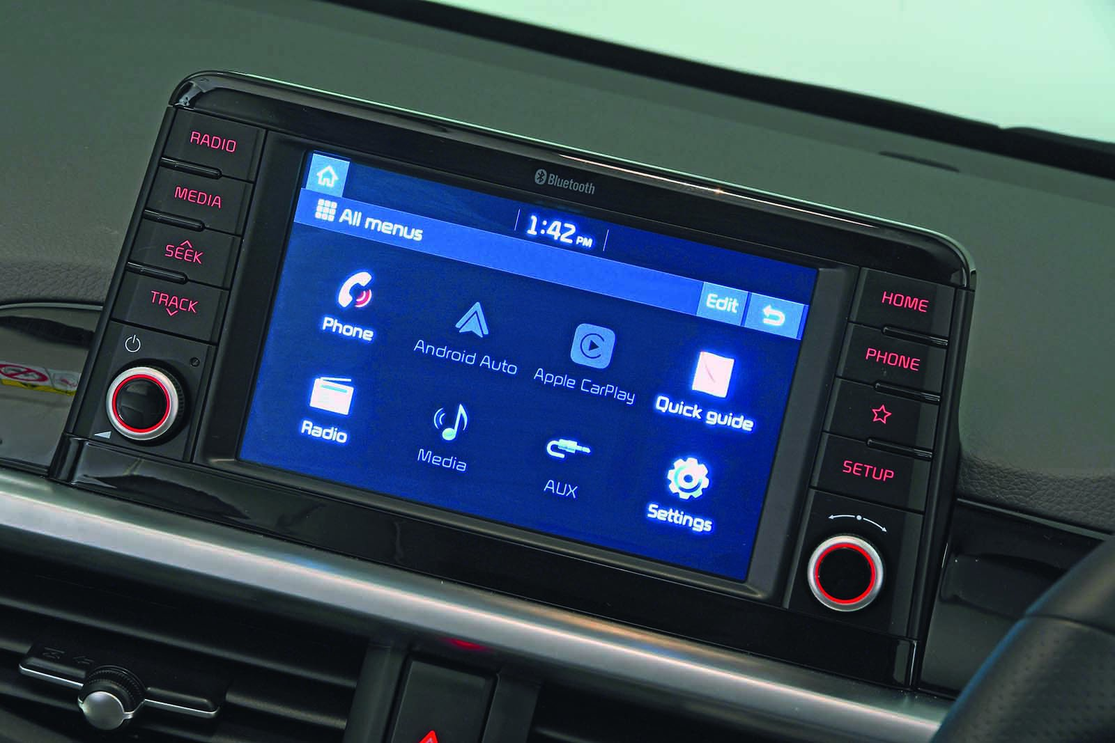 Kia Picanto 2020 RHD infotainment