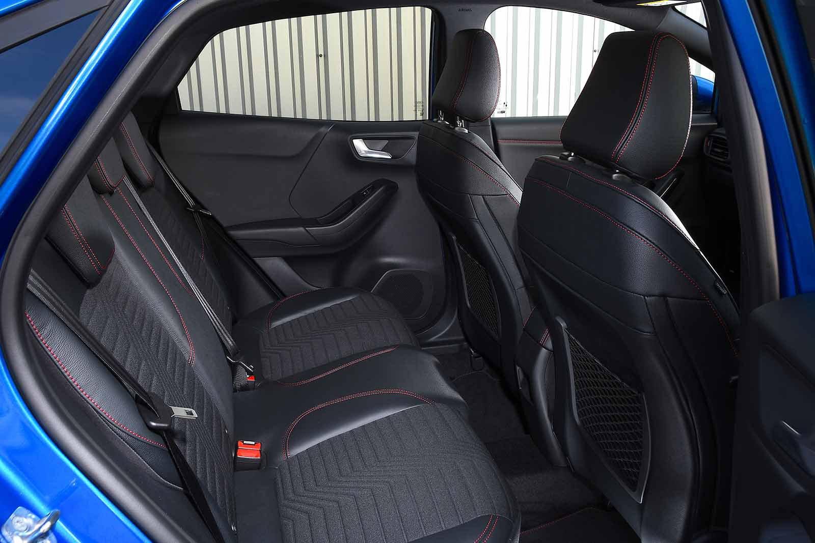 Ford Puma 2020 rear seats RHD