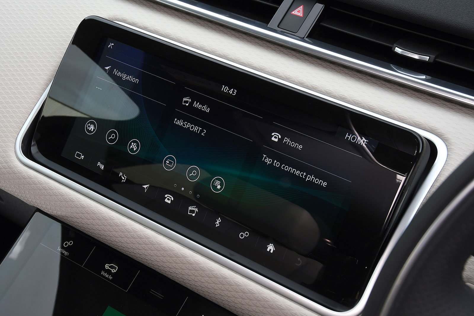 2020 Range Rover Velar P250 R-Dynamic SE infotainment