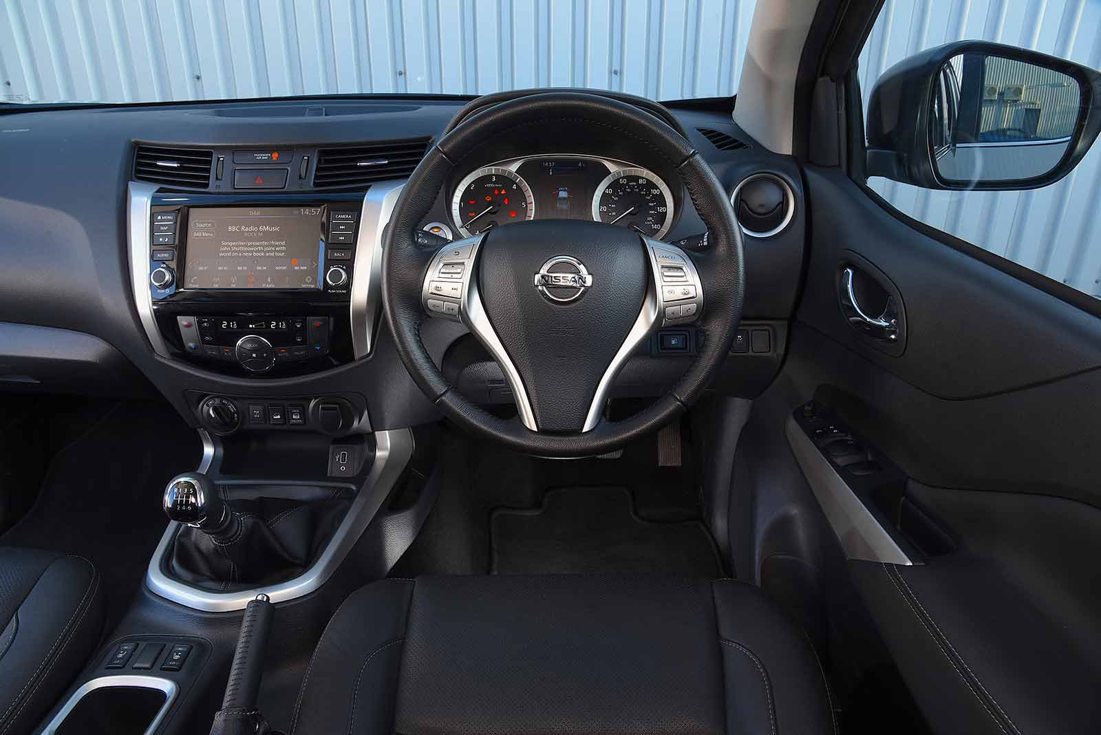 Nissan Navara 2020 RHD dashboard