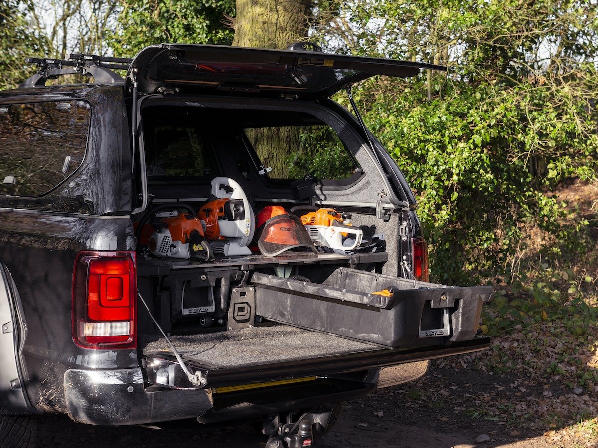 Truckman Decked bed drawers help you to keep your tools even more secure and organised