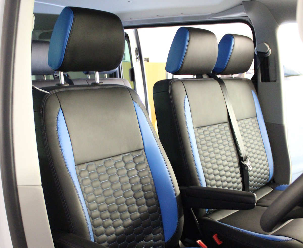 Upgrading to 100% genuine premium leather seats is a great way to add durability and protection
