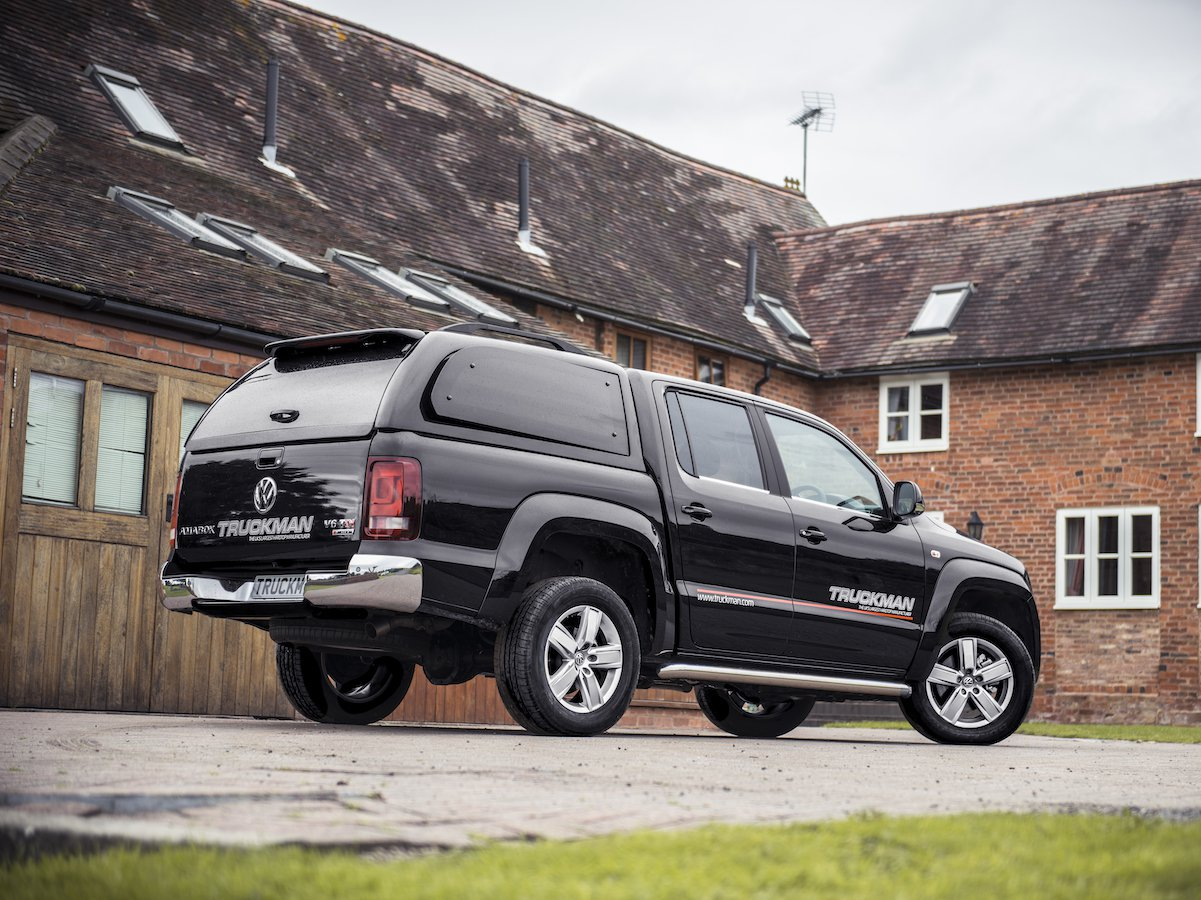 Volkswagen has teamed up with pick-up experts Truckman to create a range of state-of-the-art Truckman hardtops that are a perfect fit